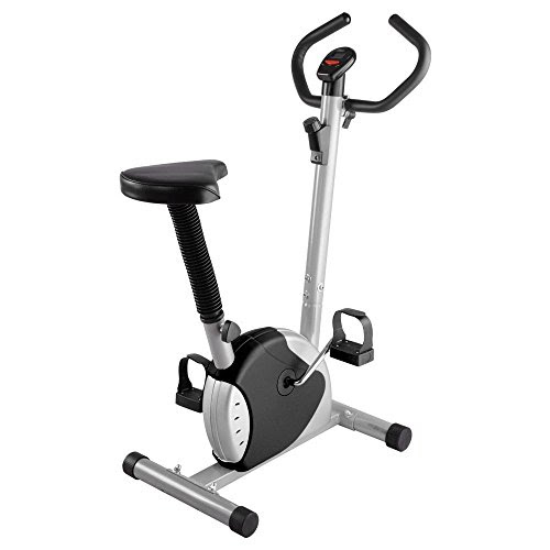 ReaseJoy Indoor Aerobic Training Cycle Exercise Bike Black Fintess Machine Cardio Equipment Workout Gym