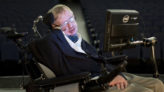 "Stephen Hawking: ""My disability has been a help in a way"""