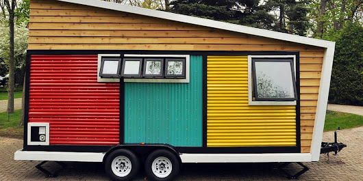 7 Small-Space Decorating Tips to Steal From This Tiny Mobile Home - Tiny Box Home
