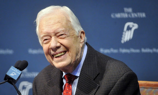 Jimmy Carter is now the longest-living president in U.S. history