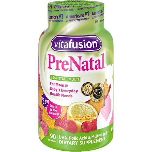 Vitafusion Prenatal Vitamins Gummies - 90 count
