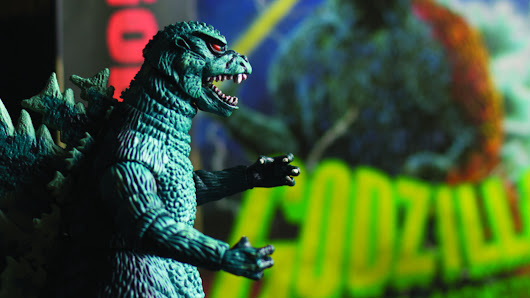 REVIEW / NECA Godzilla video game tribute figure - That VideoGame Blog