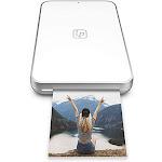 Lifeprint Ultra Slim Printer Portable Bluetooth 2x3 ZINK Zero Ink Sticky-Back Film (White)