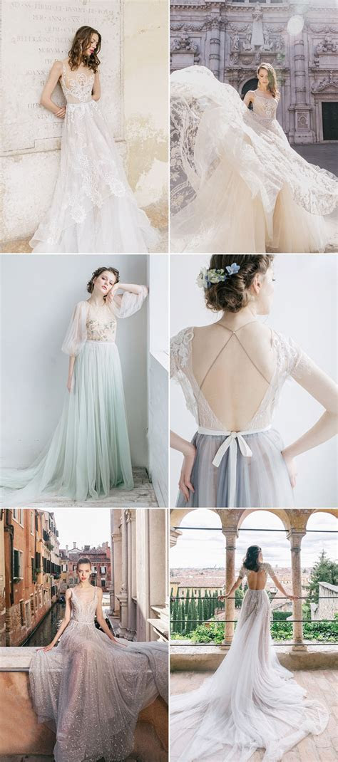 26 Ethereal Wedding Dresses That Look Like They Belong in