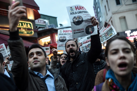 Protests in Turkey following referendum criticism by opposition and Europe