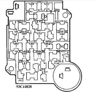 79 Chevy Truck Fuse Box Diagram - Wiring Schema Collection