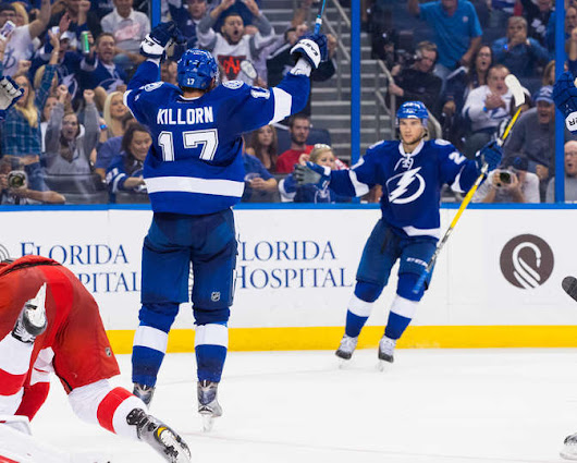 Game 1: Lightning Start Slow, Comeback To Beat Red Wings 6-4