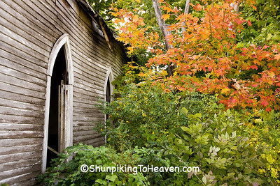 Abandoned Bethel Chapel (1880), Richland County, Wisconsin