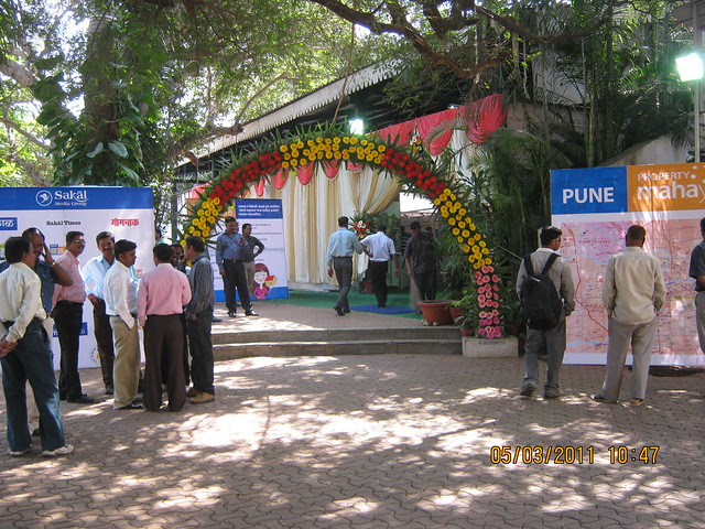 An opportunity to invest in Pune real estate - Sakal Porperty Mahayatra Kolhapur, 5ht to 7th March 2011 at Hotel Pavilion
