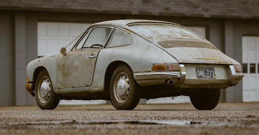 An Oil Leak Sidelined This Porsche 911 Barn Find For 40 Years