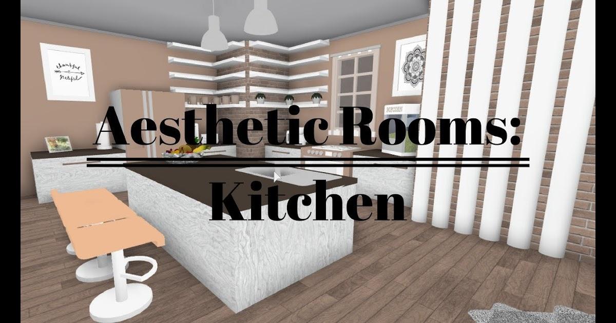 Aesthetic Cute Bloxburg Kitchen Ideas