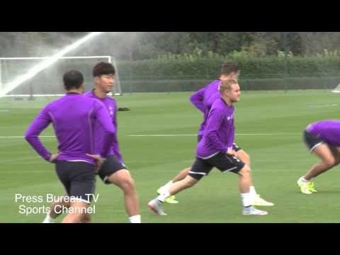 VIDEO: Spurs training session