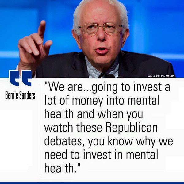 Democratic presidential candidate Bernie Sanders speaks the truth about his GOP rivals in the election race...and the Republican Party, in general.