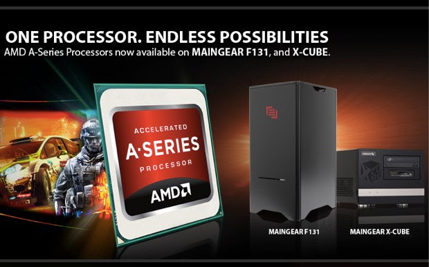 Maingear welcomes AMD's ASeries to its desktop lineup