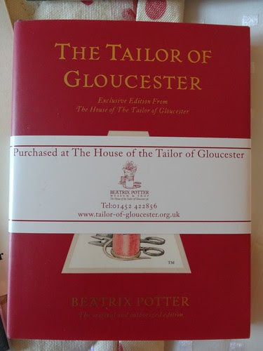 Commemorative Edition of The Tailor of Gloucester!