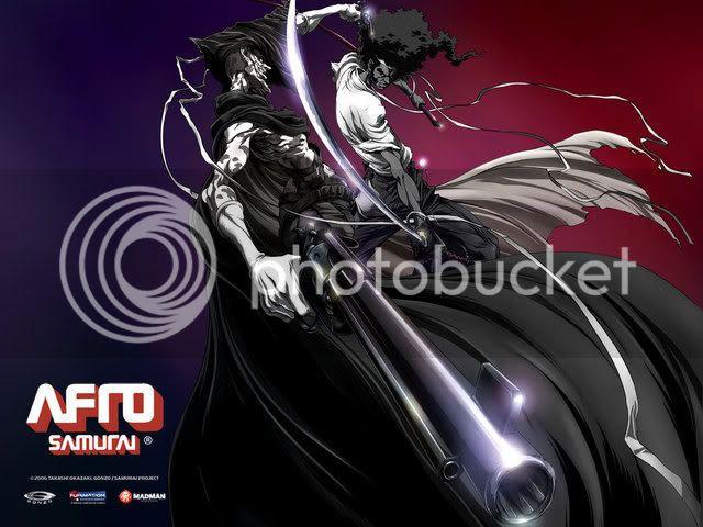 Afro Samurai Anime Photos
