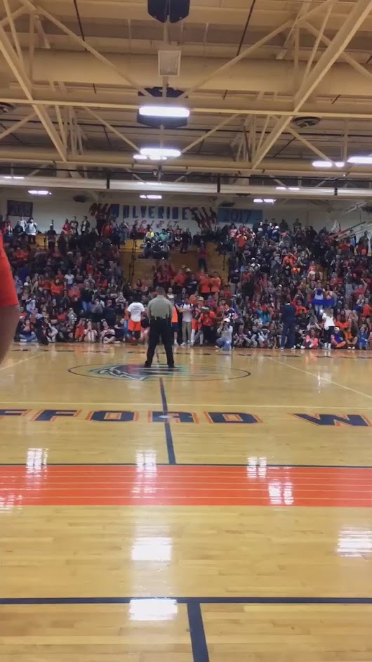 "spooky harry 🎃 on Twitter: ""My sister teaches at a high school in Virginia and she just sent me this video of their county lieutenant dancing to formation @ a pep rally """