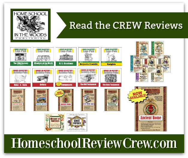 Hands-on-History, Project Passport, À La Carte Timelines and Time Travelers {Home School in the Woods Reviews}