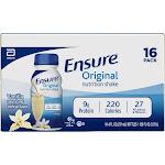 Ensure Original Nutrition Shake - Vanilla - 16ct/128 fl oz