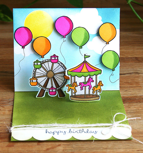 Pop Up Birthday Card — inside