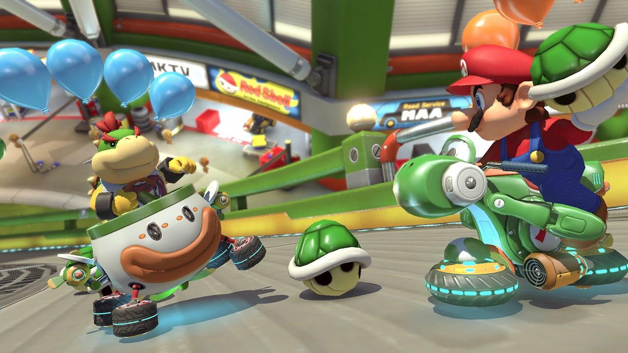 Yep, Mario Kart 8 Deluxe is still king during Golden Week screenshot