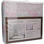 Dwell Studio Sweet Fawn Deer/Forest 3 Piece Crib Bedding Set