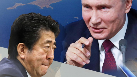 Japan may accept Russia peace pact if handover of 2 islands secured
