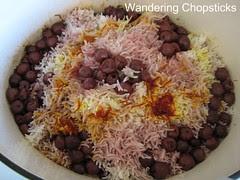 Albalu Polow (Persian Sour Cherry Rice) 1