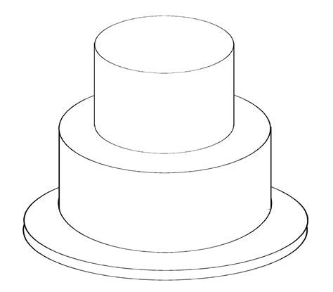 ROUND Cake Baking and Serving Guides. This link tells you