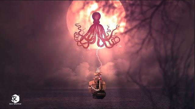 Ship In the Ocean Photoshop Manipulation Tutorial | Download Free Stock |Okay Bhargav
