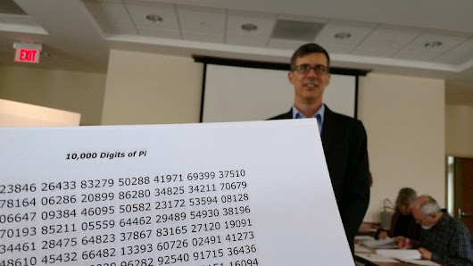Pi Try: Greenwich Man Goes For World Record