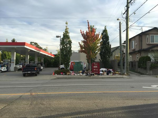 East Van Garbage Watch: Here's how not to donate clothing in Vancouver