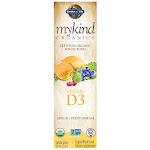 Garden of Life Mykind Org Vit D3 2oz Vanilla Spray