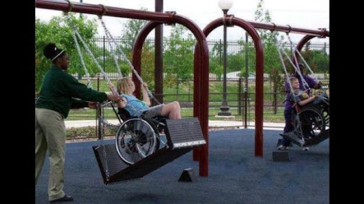 Group raises cash for accessible playgrounds
