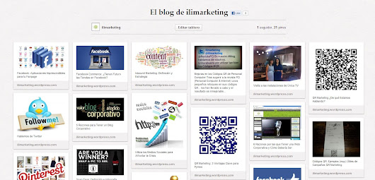 Páginas de Empresa en Pinterest | El blog de ilimarketing
