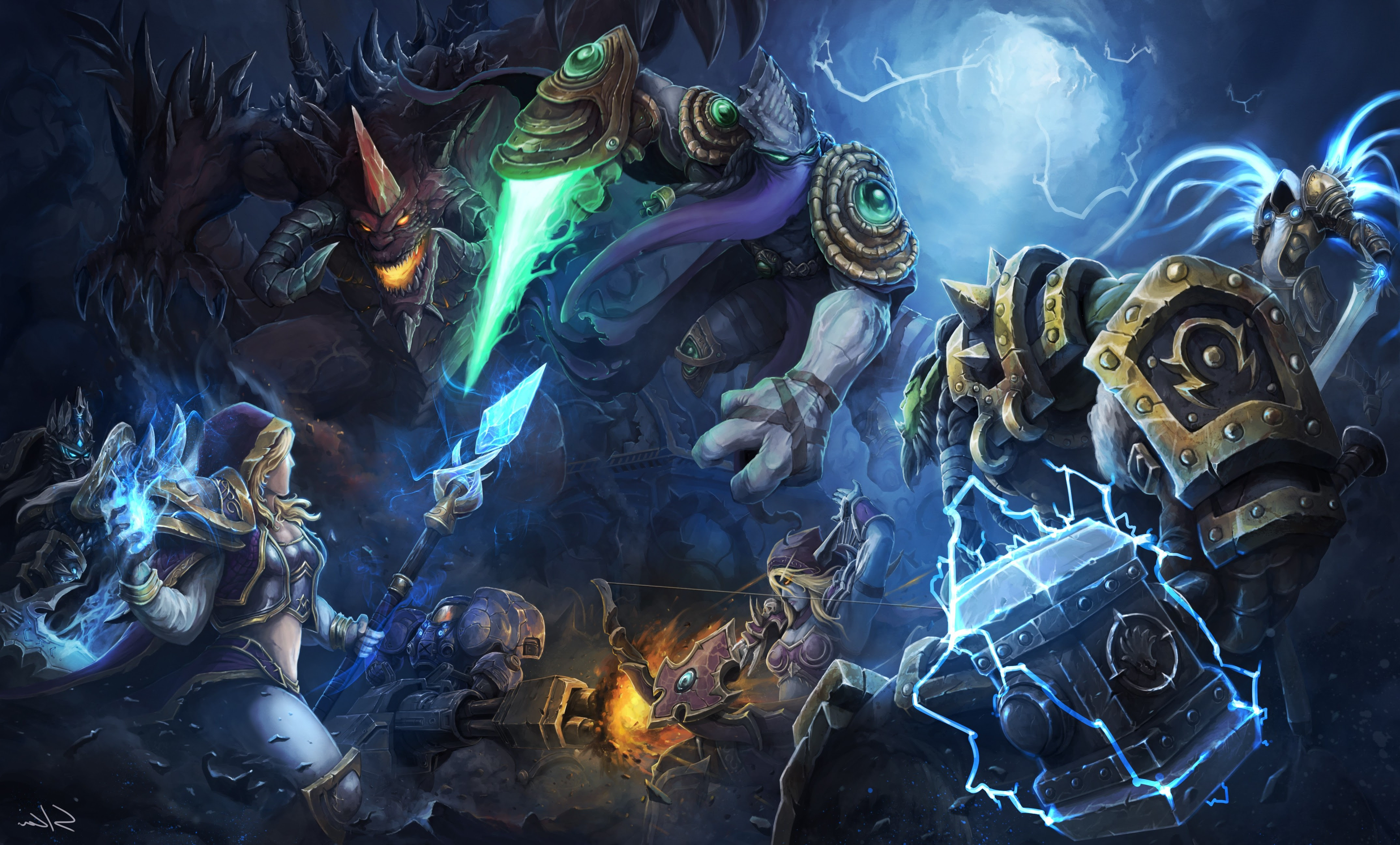 Heroes Of The Storm Sylvanas Windrunner Contests Blizzard