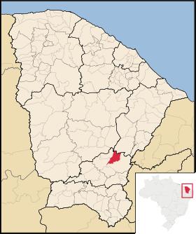Localização de Orós