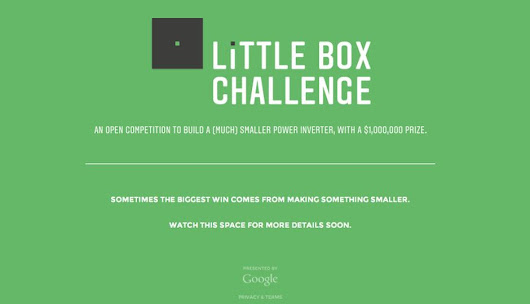 Google, IEEE offer $1 million as prize for a laptop sized power inverter