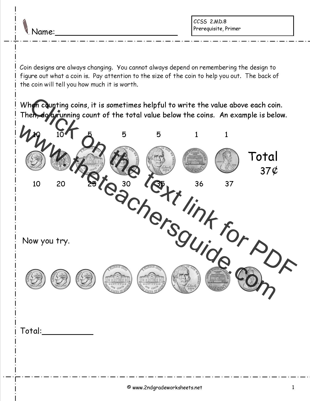 Kids Worksheet Teaching Money Worksheets Practice Addition ...