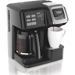 Hamilton Beach 49976 FlexBrew 2-Way 12-Cup Combo Coffee Maker - Black