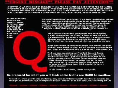 Black Pill Warning From Qanon Via Twitter Operation