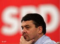 Sigmar Gabriel, presidente do Partido Social Democrata (SPD)