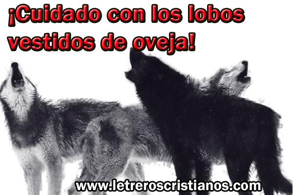 Lobos Letreros Cristianoscom Imagenes Cristianas Imagenes