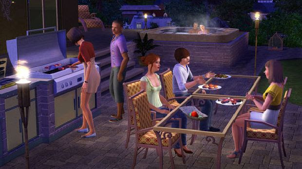 The Sims 3 Outdoor Living Stuff Free Download « IGGGAMES