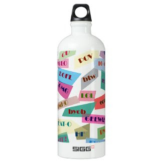 Textings and Sayings SIGG Water Bottle