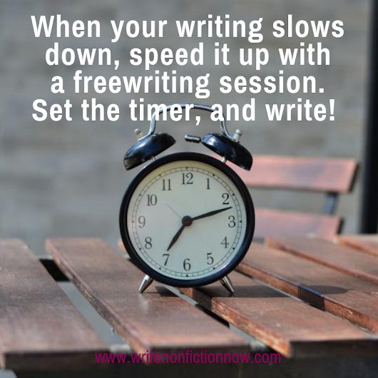 A Beginners Guide to Freewriting - Write Nonfiction NOW!