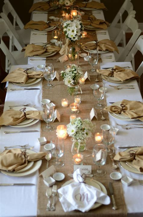 Country themed Bridal luncheon (burlap and lace)   WEDDING