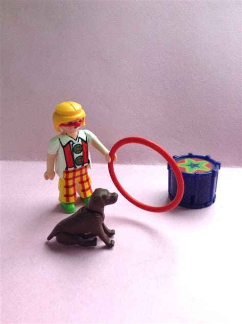 Playmobil Geobra Clown Circus Set, set of 4, toy clown