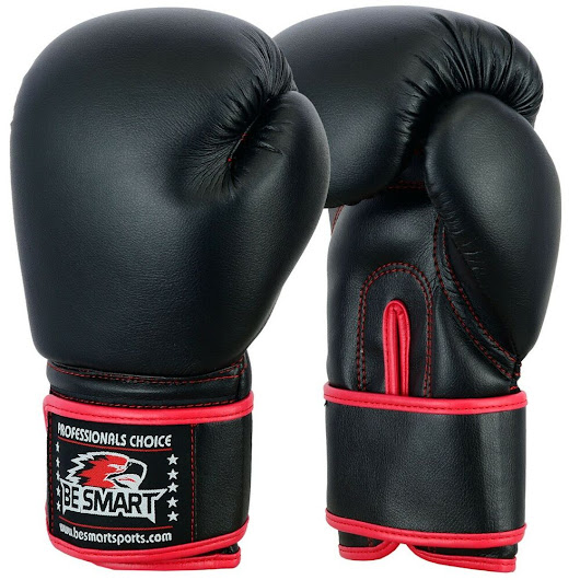 Details about BeSmart Kick Boxing GEL Gloves MMA Punch Bag Sparring Muay Thai Fight Training
