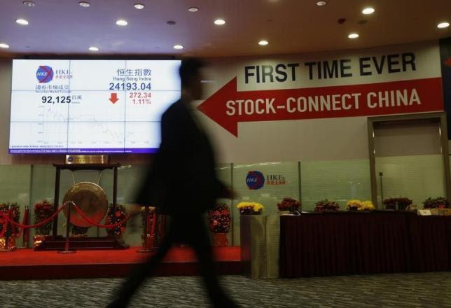 Bursa Saham Hong Kong  Pesta Pora  Setelah Gabung China a7386c4445